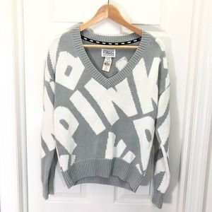 PINK Victoria's Secret Forenza Grey Sweater